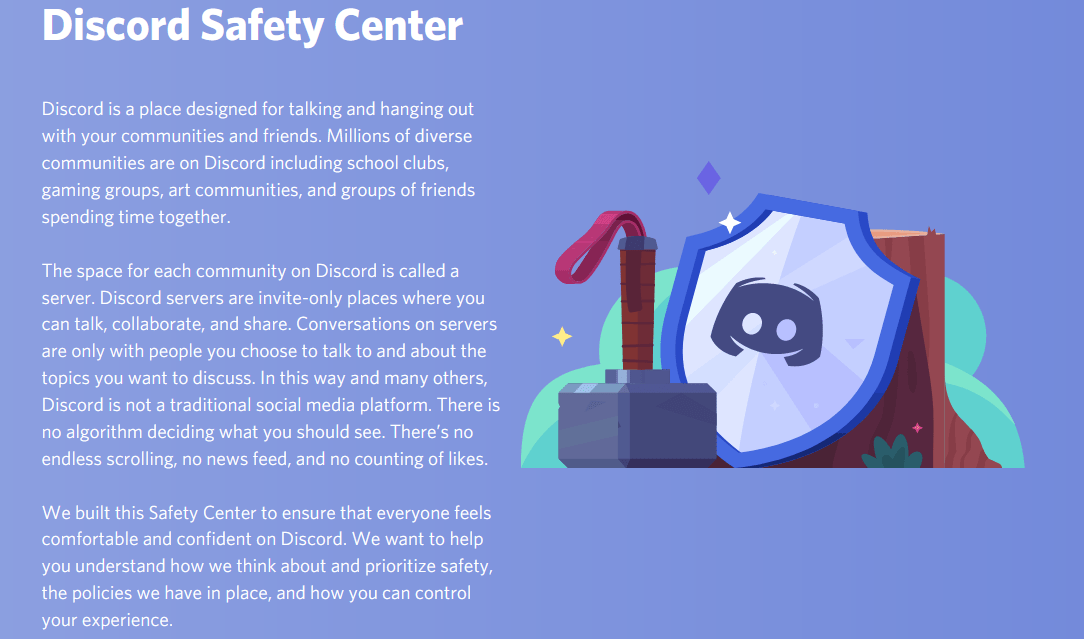 Does Discord collect data